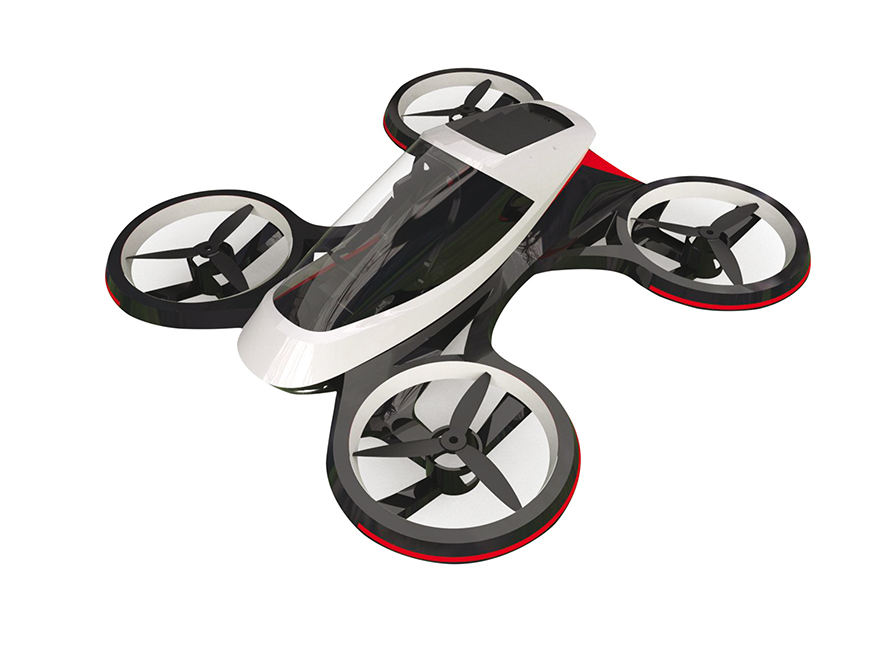 Projet pour un drone hydraulique