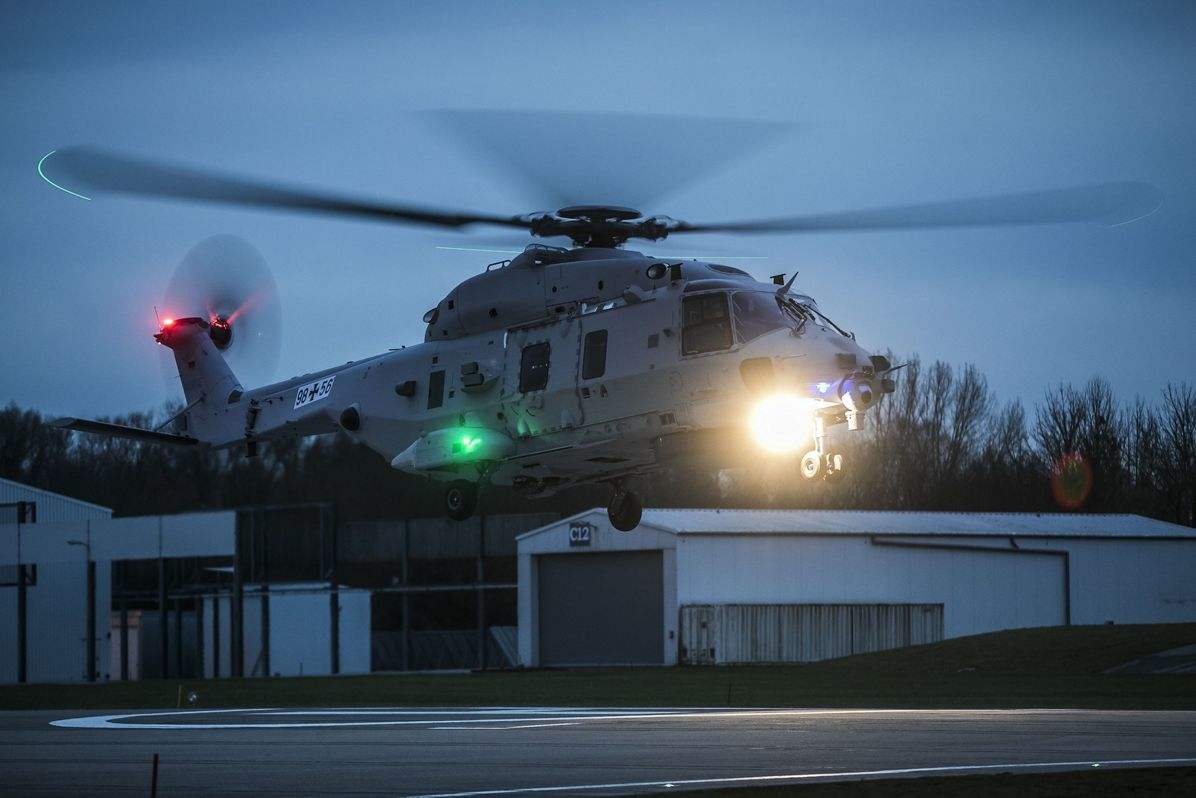Second NH90 prototype for German Navy takes off