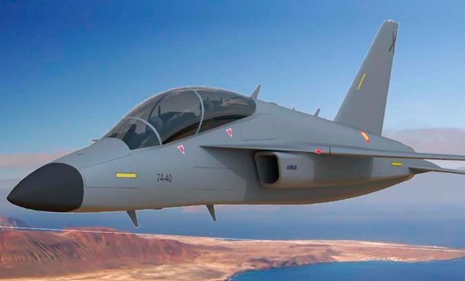 Un nouveau concept d'avion d'entraînement pour l'Ejército del aire espagnole