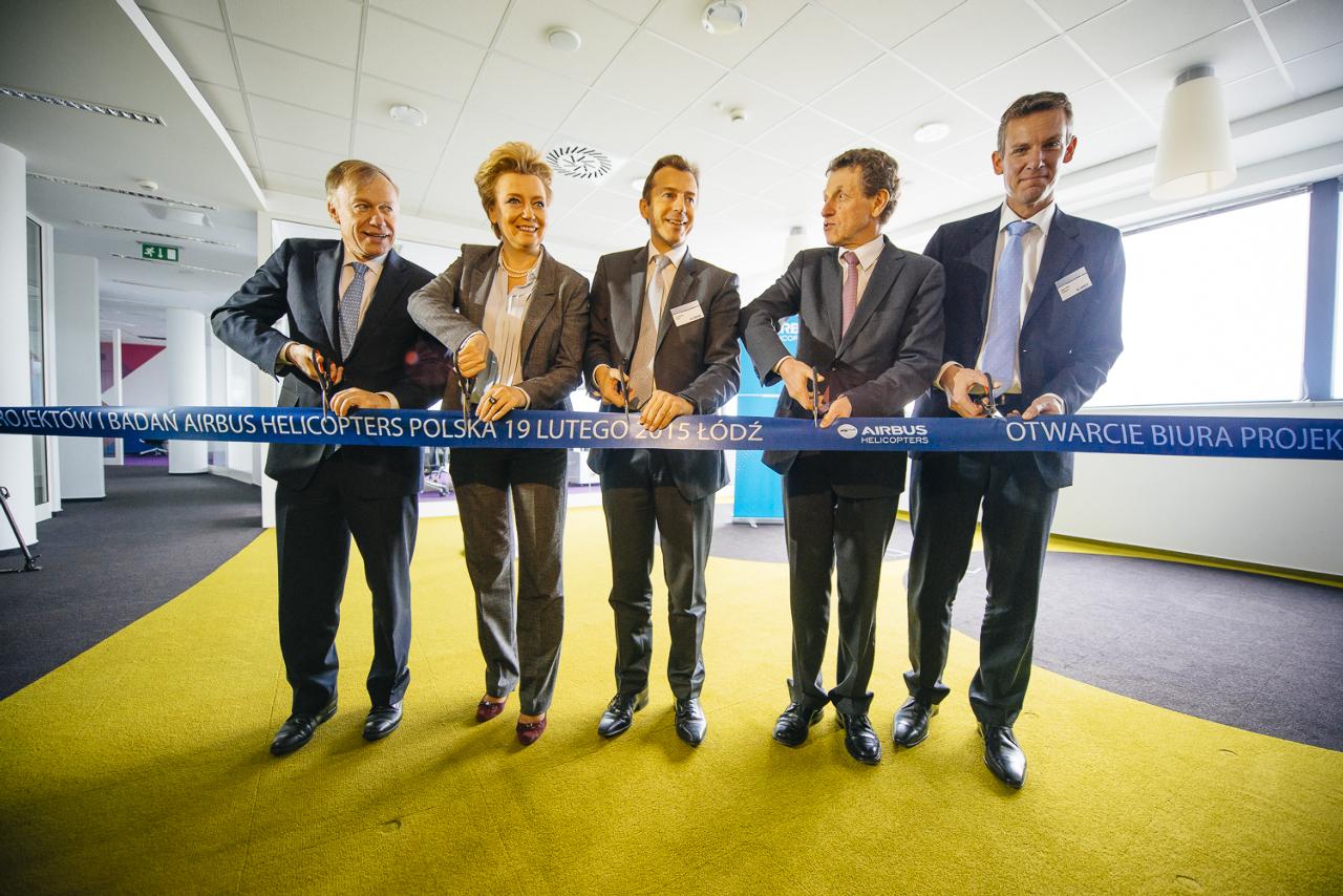 Airbus Helicopters inaugure un nouveau centre de recherches et de développement en Pologne