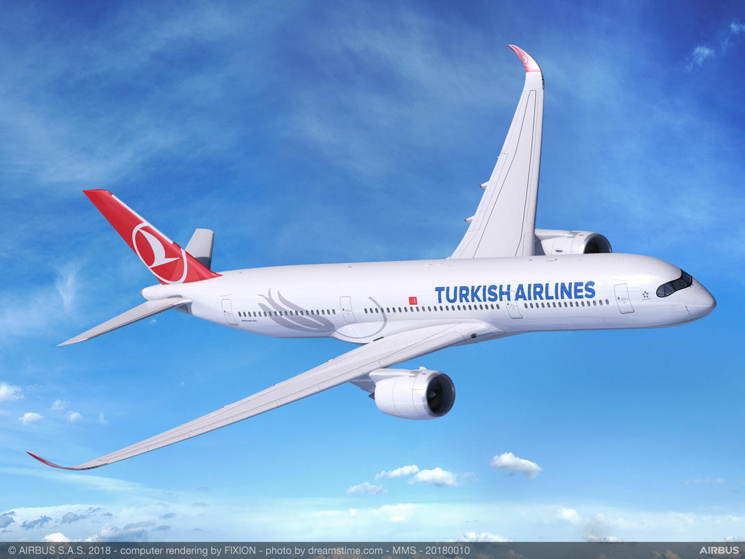 Turkish Airlines commande 50 Airbus A350 et Boeing 787