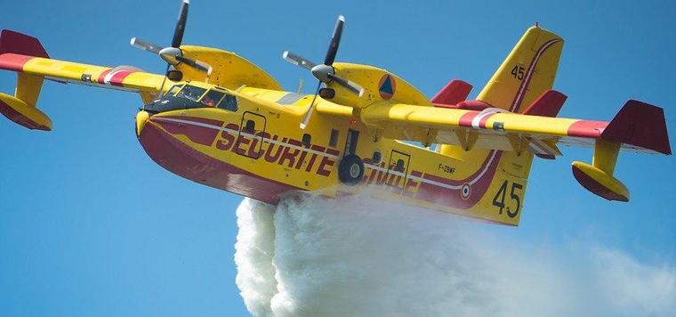 Sécurité Civile : contre les feux depuis les airs
