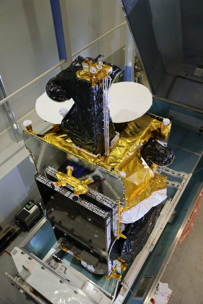 SES-12 all-electric satellite successfully launched