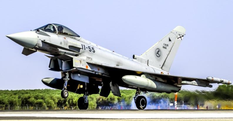 L'Espagne veut 20 Eurofighter Typhoon avec radar e-scan