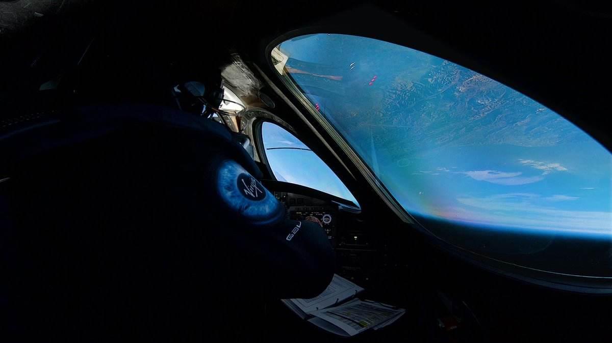 Le SpaceShipTwo de Virgin Galactif dépasse les 80 km d'altitude