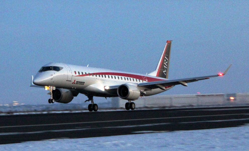 Les MRJ reprennent les vols
