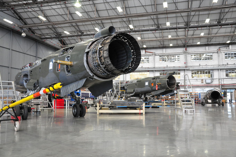 SABCA reconfigure des Mirages F-1