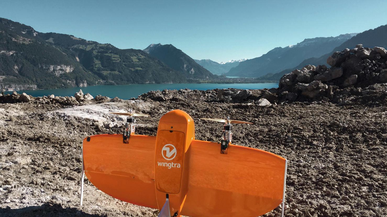 Wingtra présente son drone VTOL