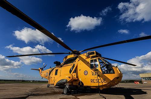 La RAF dit adieu à la mission SAR