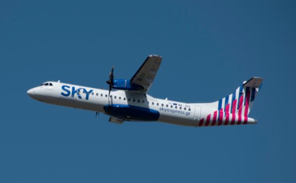 SKY express entame la modernisation de sa flotte avec un ATR 72-600