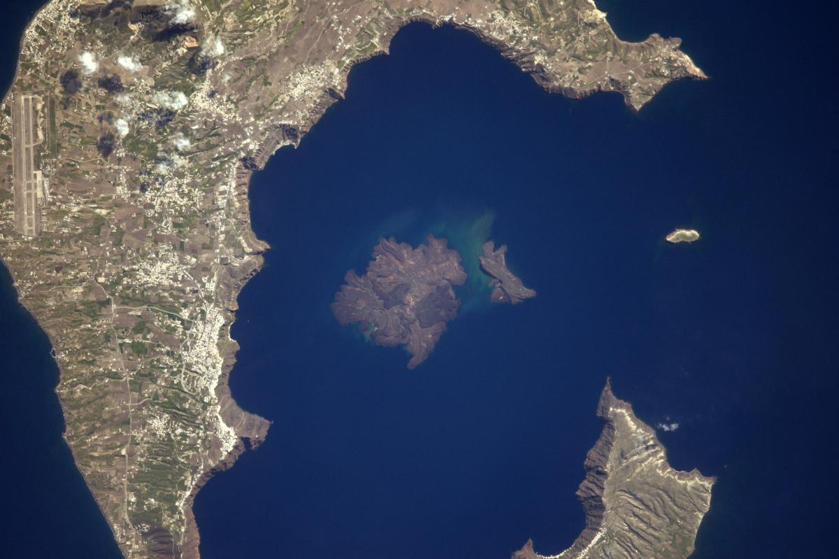 La Terre dans l'oeil de Thomas Pesquet, saison 2 : l'archipel de Santorin