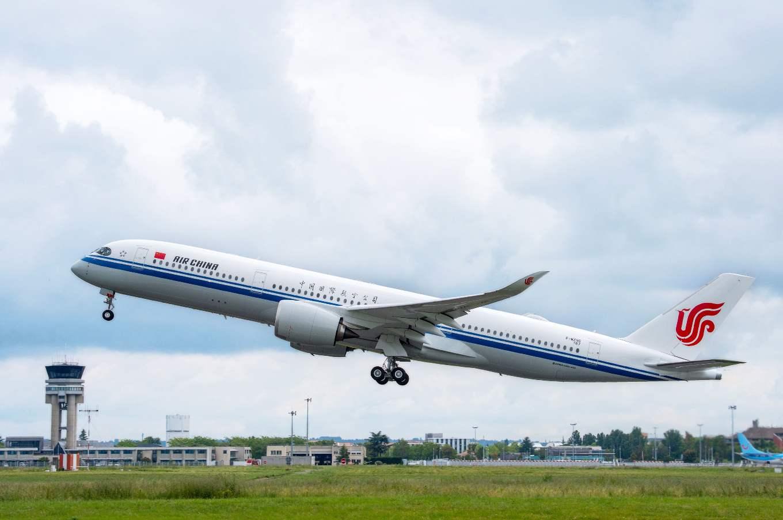 Air China prend livraison de son premier A350-900