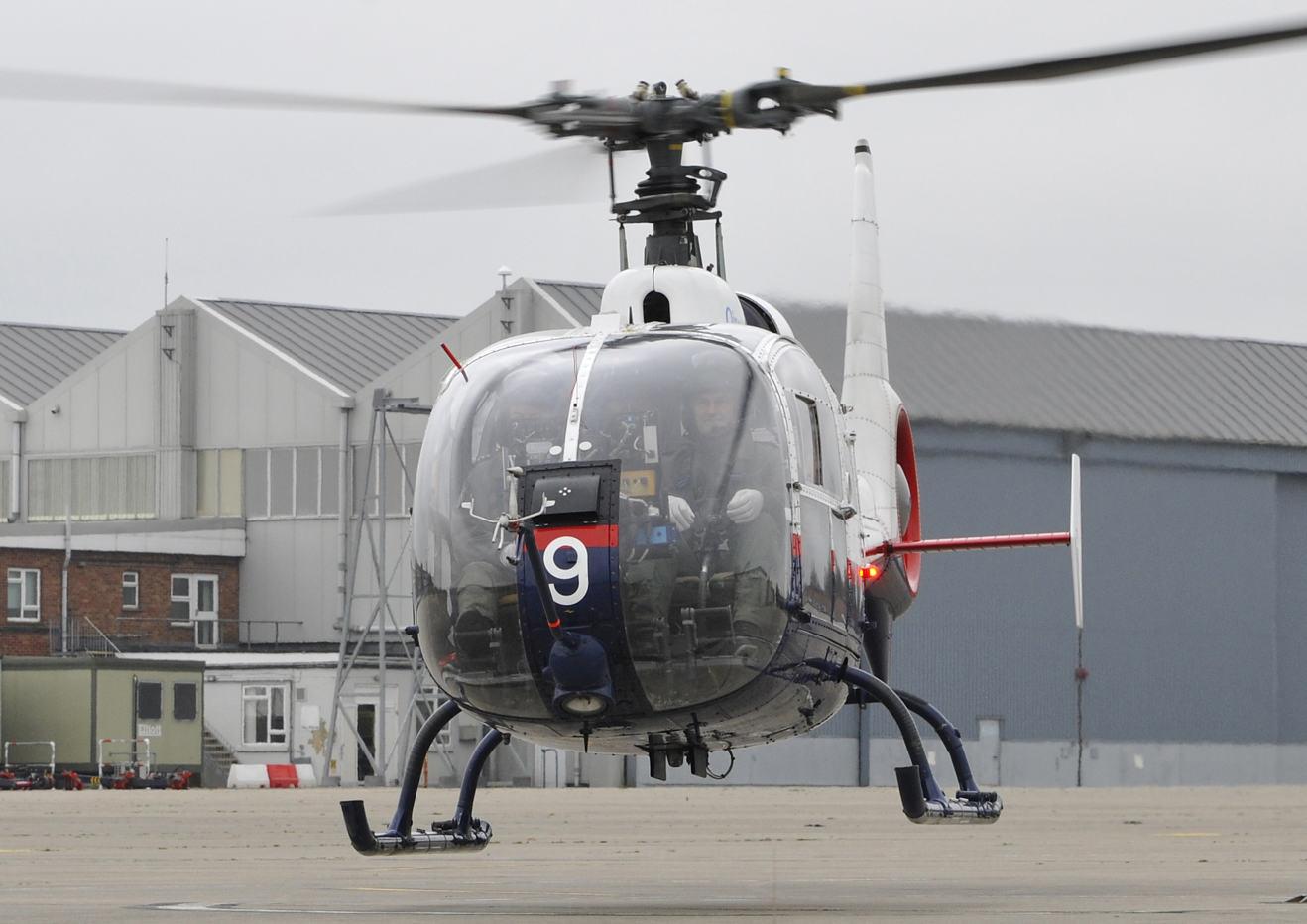 Des H125 pour l'Empire Test Pilot's School