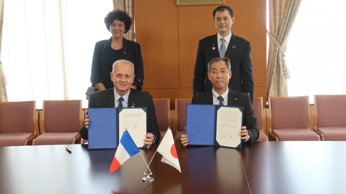 Poursuite des accords franco-japonais sur l'exploration du système solaire