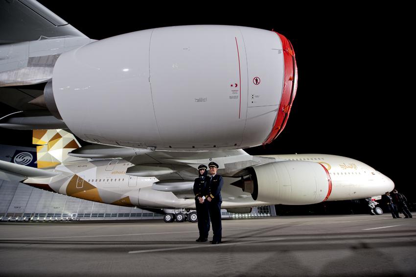 Nouvel avion, nouvelle livrée