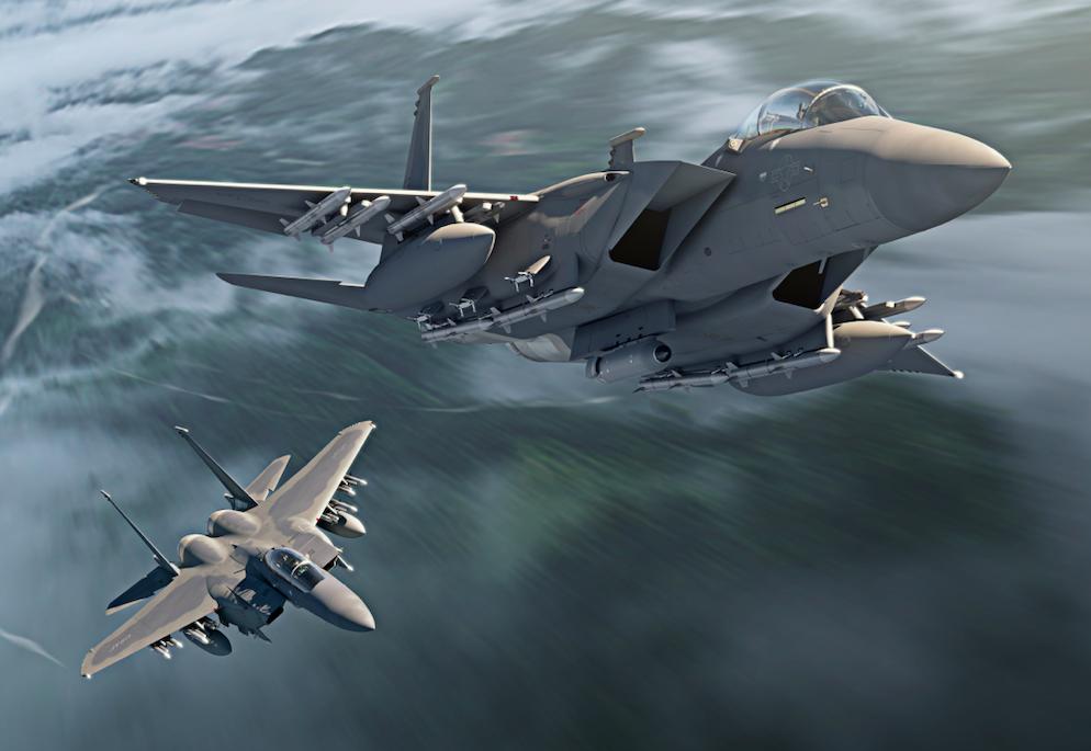 L'US Air Force se prépare à recevoir deux F-15 EX