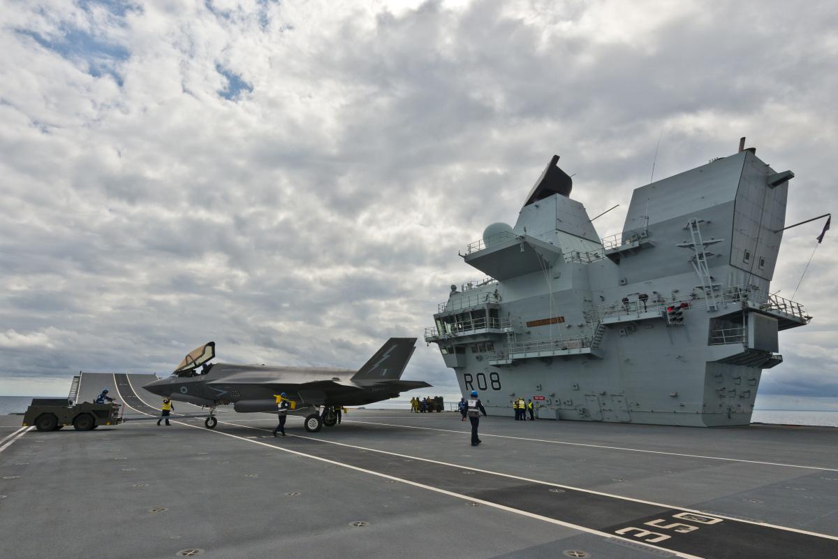 Les F-35 britanniques passent le cap des 10 000 heures de vol