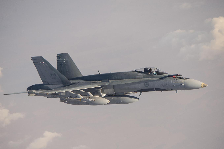 Le Canada prépare le déploiement de ses CF-18 en Lettonie