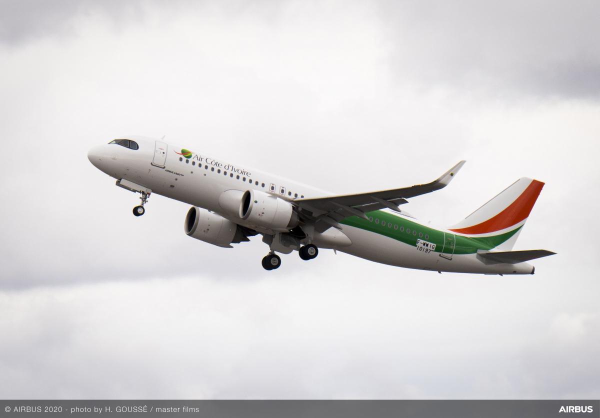 Airbus : 125 livraisons au premier trimestre 2021