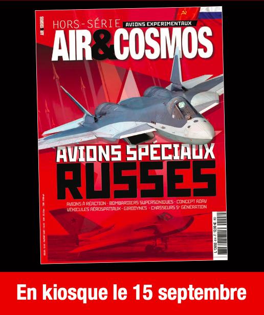 Hors-série spécial avions russes en kiosque le 15 septembre