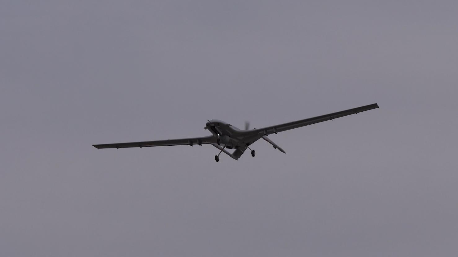 L'Ukraine réceptionne des drones turcs