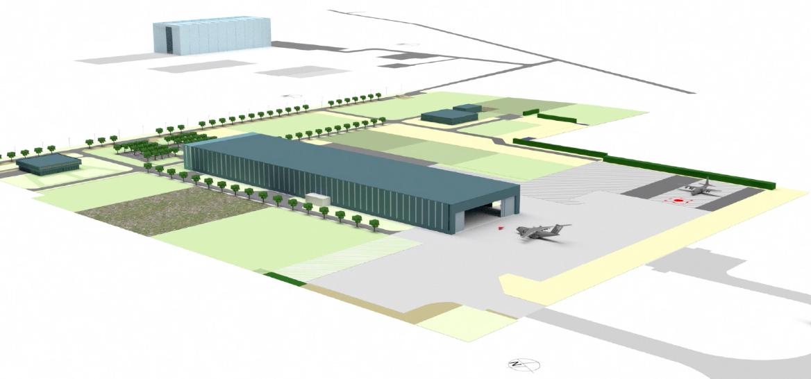 ADS Show : Un hangar pour Airbus A400M à Istres