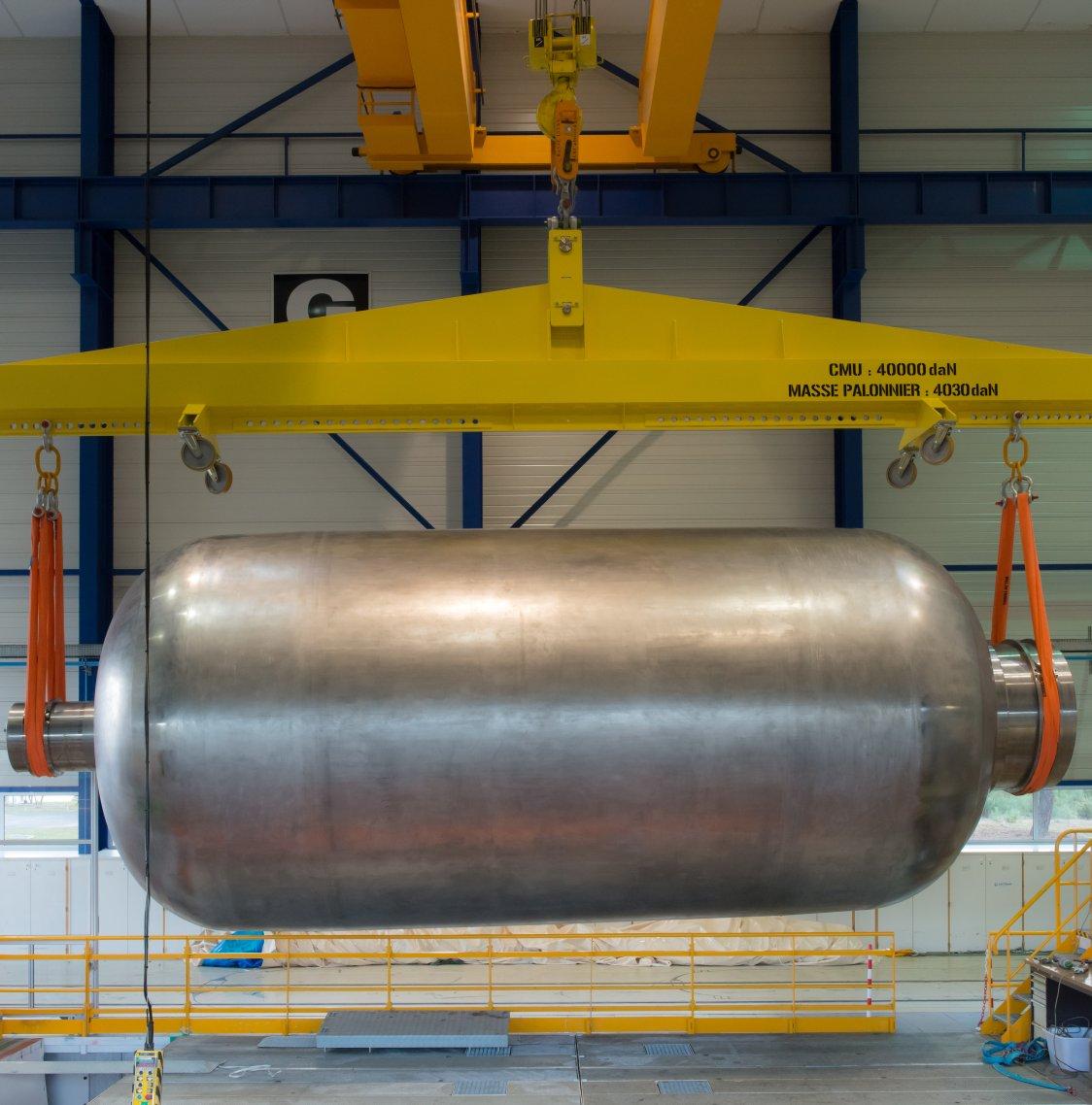 Airbus teste le bobinage d'Ariane 6