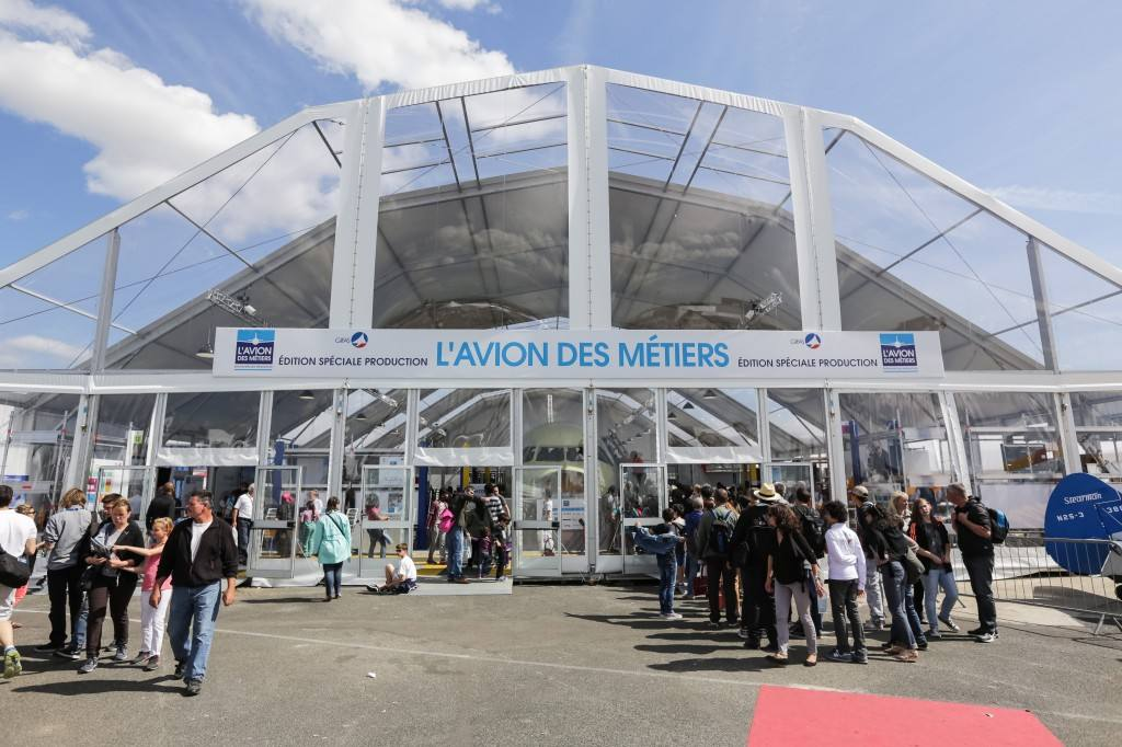 L'Avion des Métiers sera au Bourget 2017