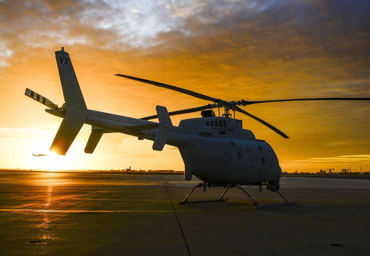 L'US Navy reçoit son premier drone Fire Scout opérationnel