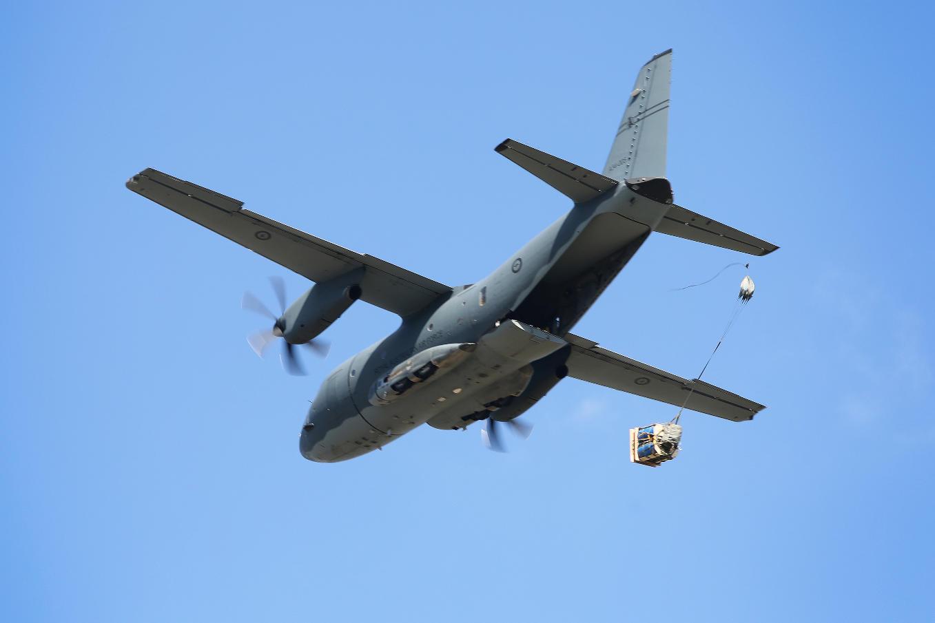 L'Australie reçoit son dernier C-27J Spartan