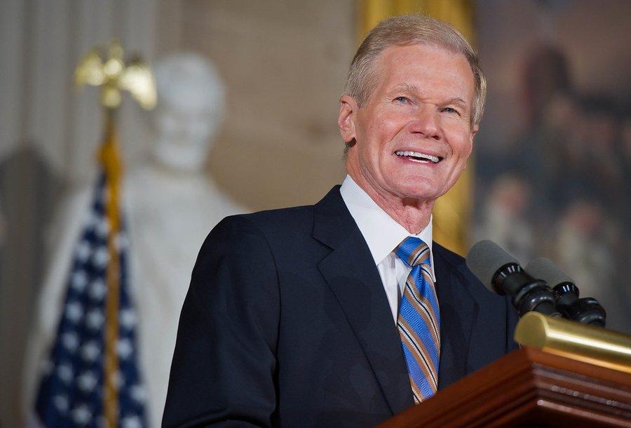 Bill Nelson nommé 14e administrateur de la Nasa