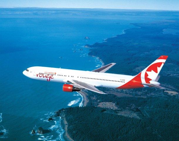 Air Canada Rouge fête son quatrième anniversaire