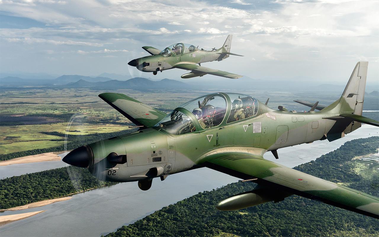 Des A-29 Super Tucano pour le Nigeria