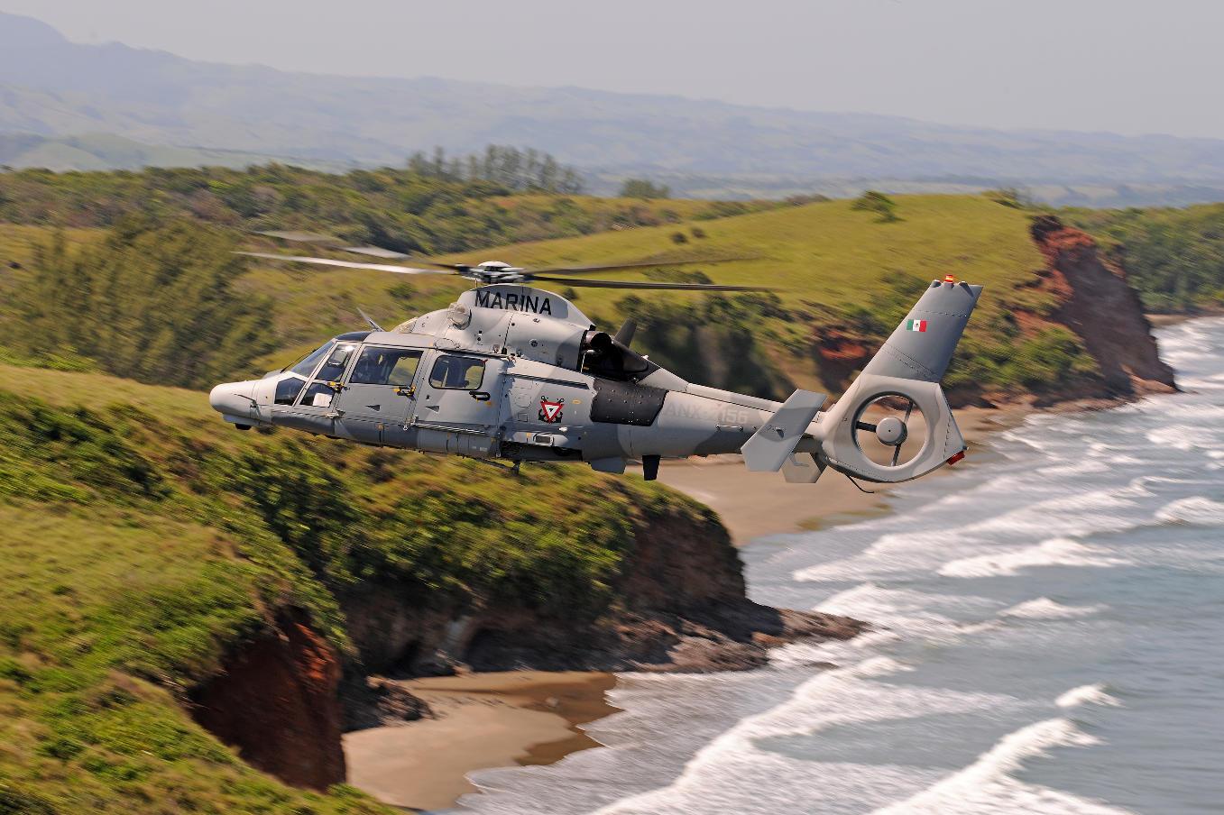 La marine mexicaine reçoit ses derniers AS565 MBe