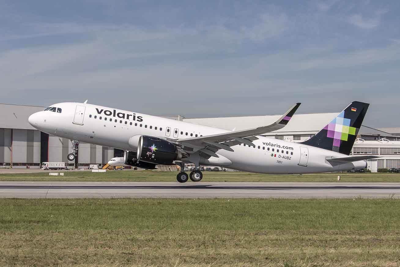 Premier Airbus A320neo pour Volaris