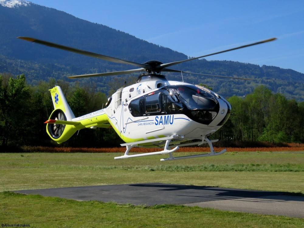 SAMU : SAF a reçu son troisième H135
