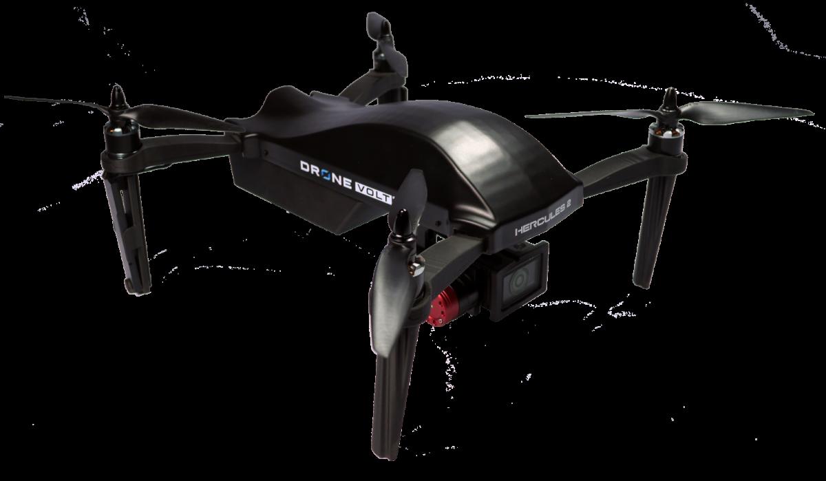 Drone Volt porté par ses drones Hercules