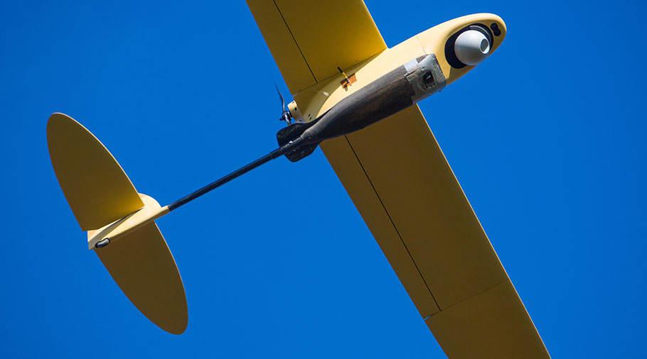Bourget 2017: Thales présente son drone Spy'Ranger