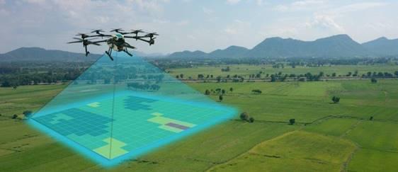 Lentera présente un drone agricole