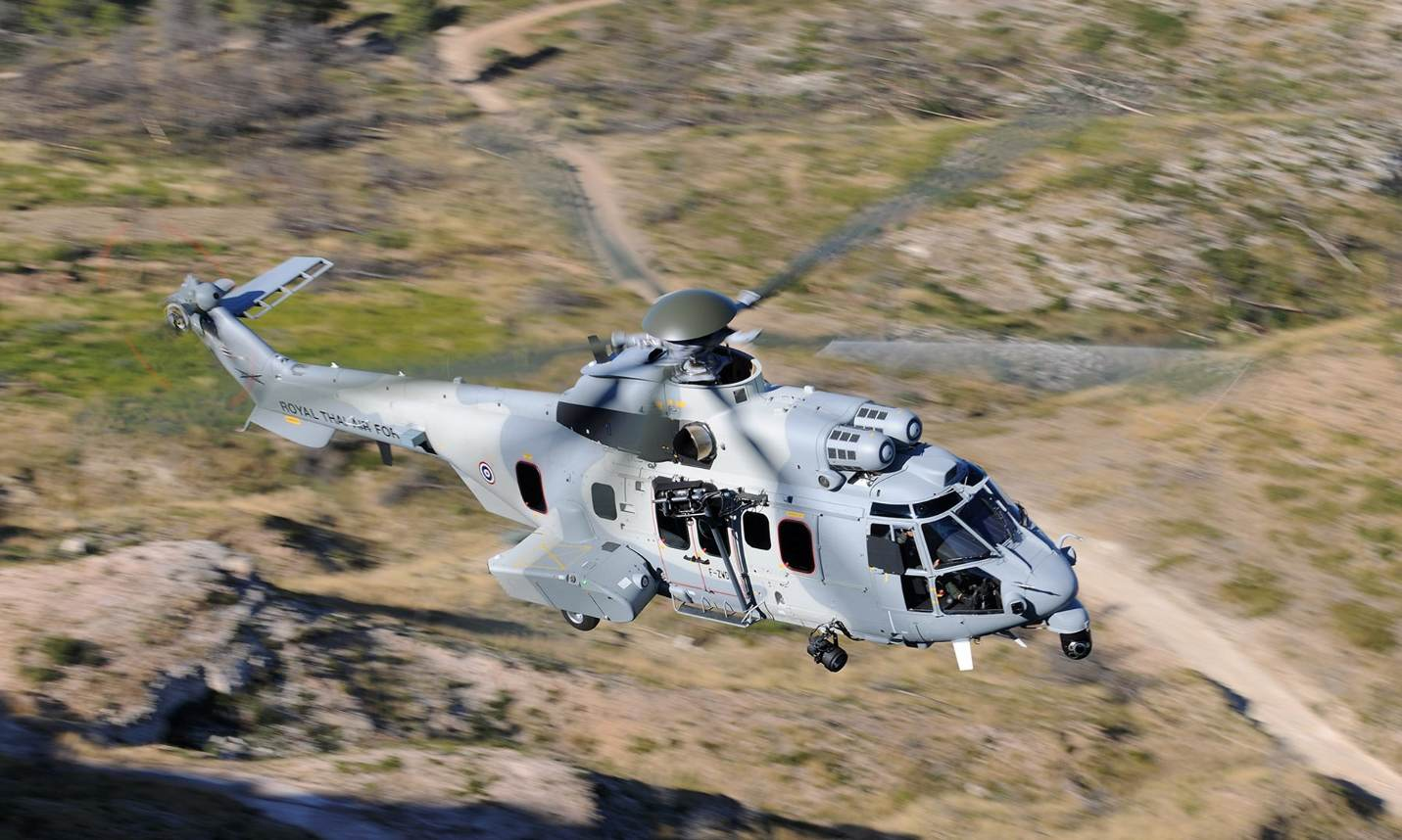 La Thaïlande reçoit deux nouveaux H225M