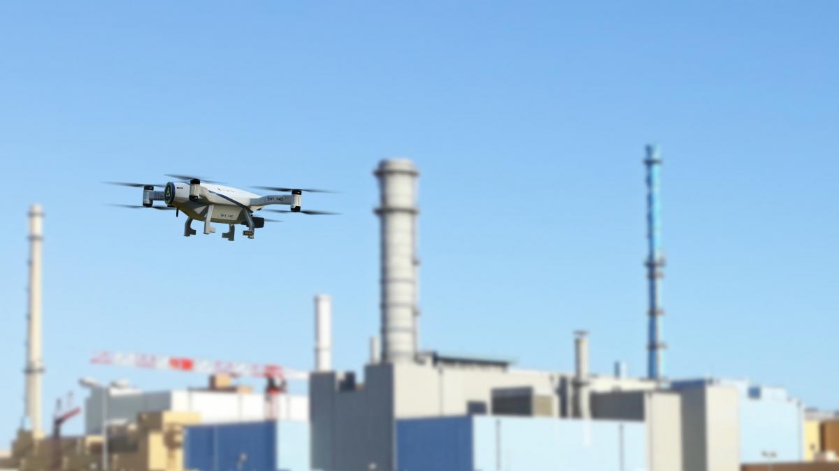 Azur Drones sécurise le site nucléaire d'Orano La Hague