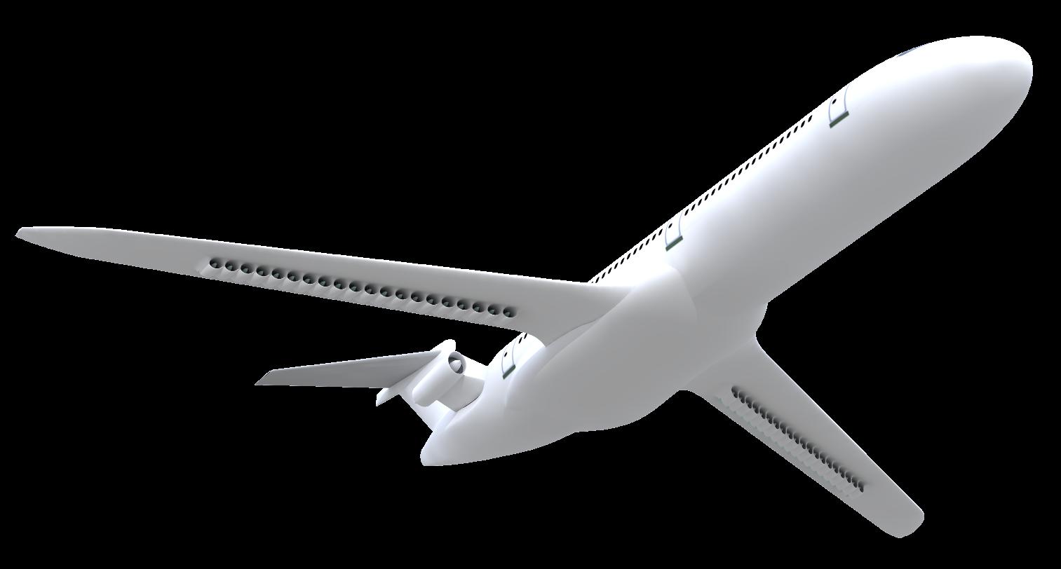 Bourget 2019 : L'Onera dévoile Dragon, concept d'avion de ligne à propulsion distribuée