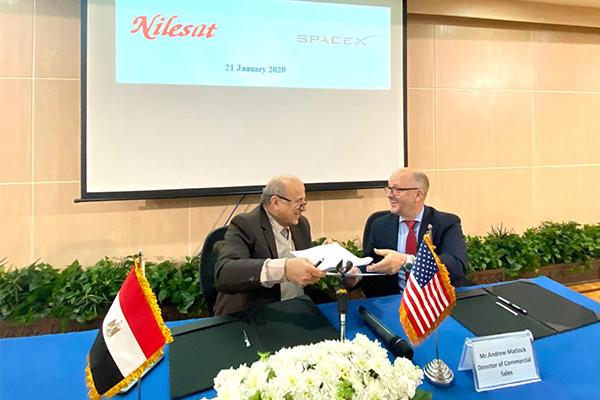SpaceX lancera le satellite égyptien NileSat 301 en 2022