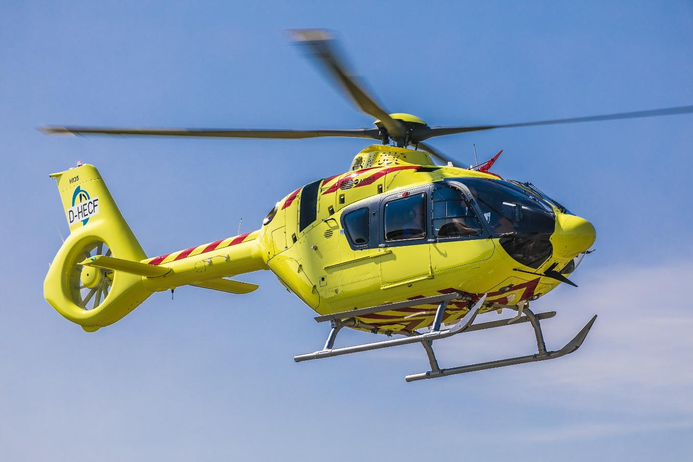 Airbus Helicopters delivers first civil H135 with Helionix