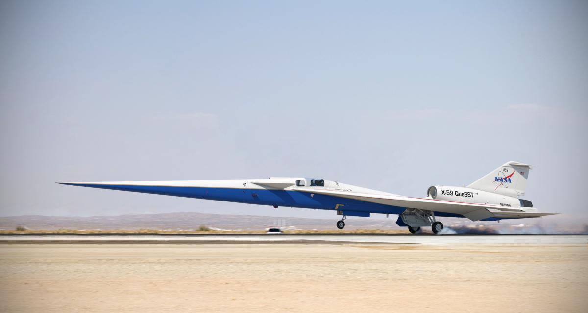 Le X-59 bon pour l'assemblage final