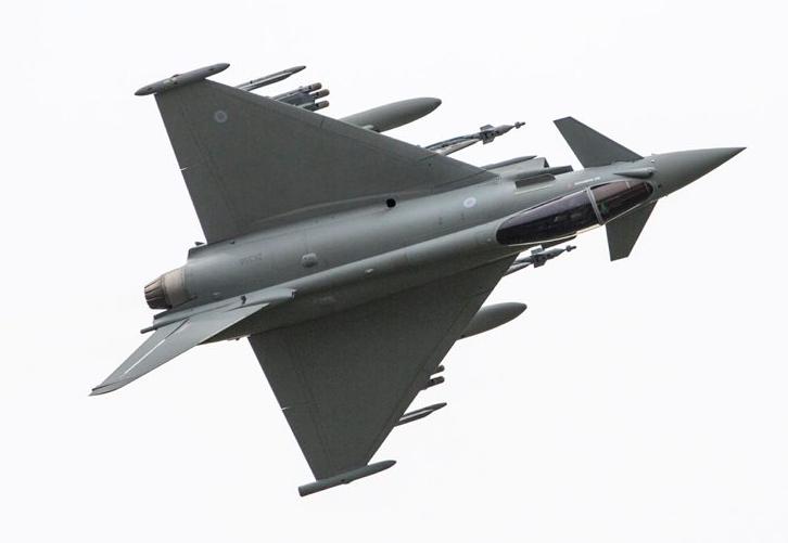 Premier emploi opérationnel du missile Brimstone depuis un Typhoon