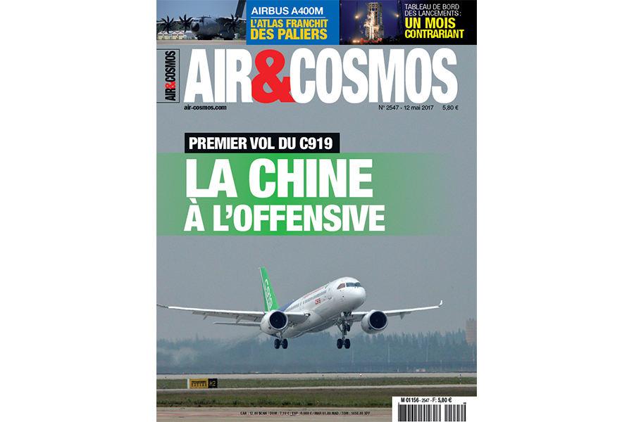 Vol du C919 chinois, Awacs russe et surbooking, ce vendredi dans Air et Cosmos
