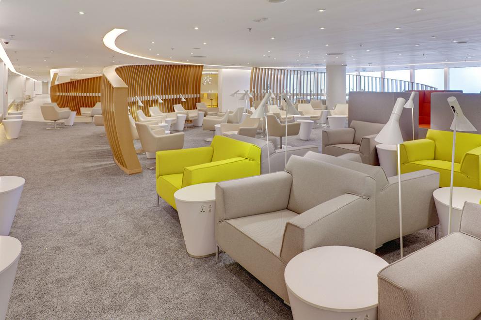 SkyTeam dévoile ses nouveaux salons