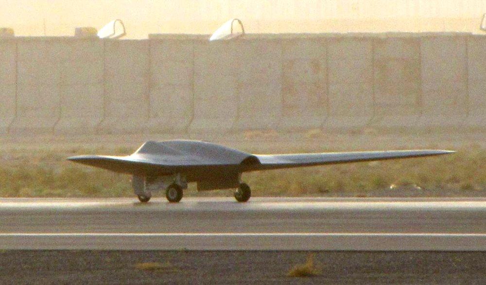 Le drone secret RQ-170 se dévoile