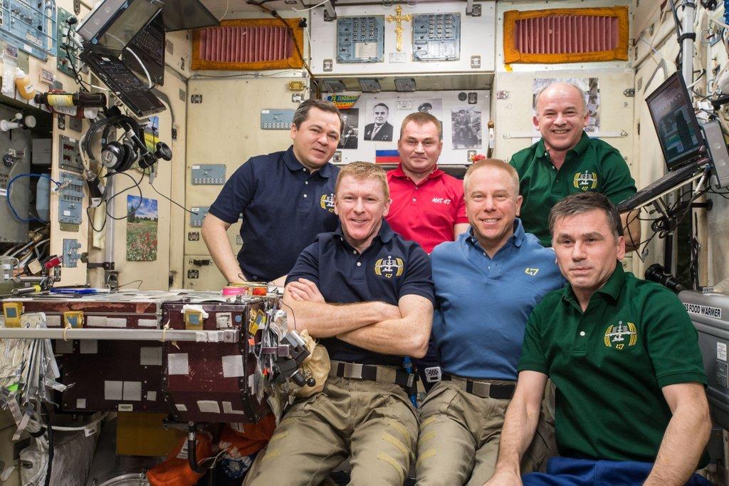 La trois millionième photo d'ISS